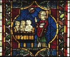 Nikolauslegende; Tulenhauptfenster; Foto: Almut Witzel